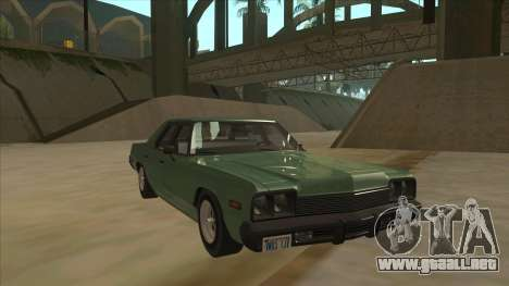 Dodge Monaco V10 para GTA San Andreas left