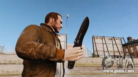Cuchillo táctico v1 para GTA 4