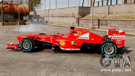 Ferrari F138 2013 v1 para GTA 4 left
