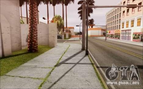 RoSA Project v1.2 Los-Santos para GTA San Andreas sexta pantalla