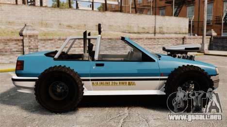 Jeep Futo Final para GTA 4 left