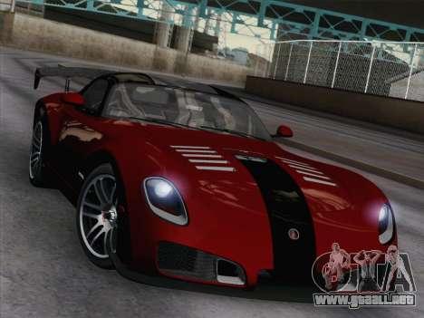 Devon GTX 2010 para visión interna GTA San Andreas