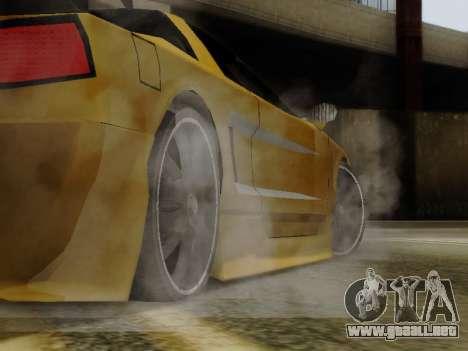 Infernus DoTeX para la visión correcta GTA San Andreas