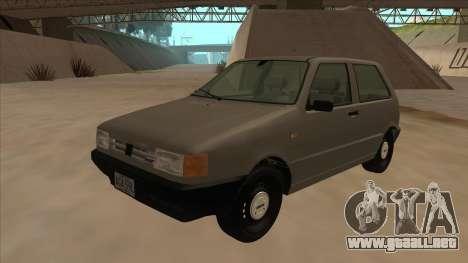 Fiat Uno 1995 para GTA San Andreas