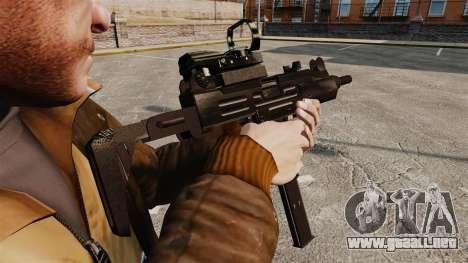 V4 Uzi Tactical para GTA 4 segundos de pantalla