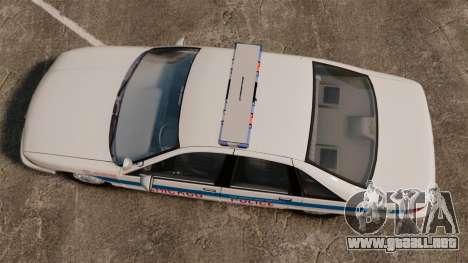 Chevrolet Caprice 1991 [ELS] v1 para GTA 4 visión correcta