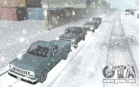 Snow San Andreas 2011 HQ - SA:MP 1.1 para GTA San Andreas tercera pantalla