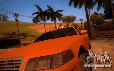ENBS V3 para GTA San Andreas segunda pantalla