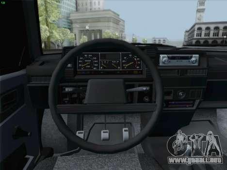 VAZ 21093i para GTA San Andreas interior