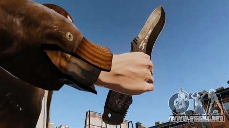 Cuchillo táctico v1 para GTA 4 tercera pantalla
