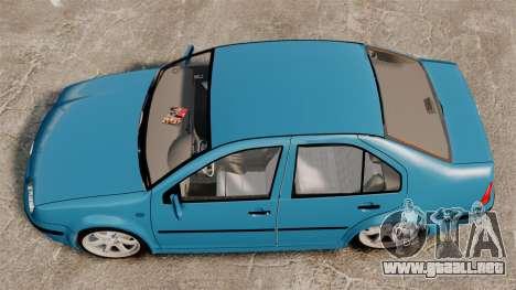 Volkswagen Bora para GTA 4 visión correcta