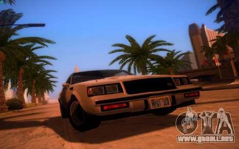 ENBS V3 para GTA San Andreas sucesivamente de pantalla