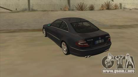Mercedes-Benz CLK55 AMG 2003 para la visión correcta GTA San Andreas