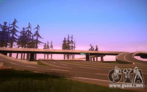 ENBS V3 para GTA San Andreas novena de pantalla