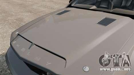 Ford Mustang Shelby GT500 2008 para GTA 4 visión correcta