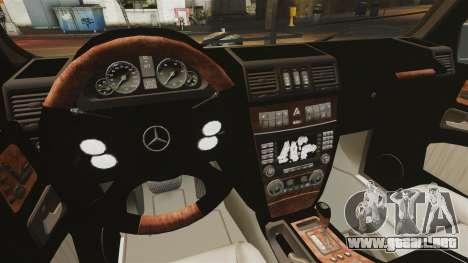 Mercedes-Benz G500 para GTA 4 vista lateral