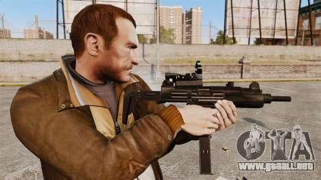 V4 Uzi Tactical para GTA 4