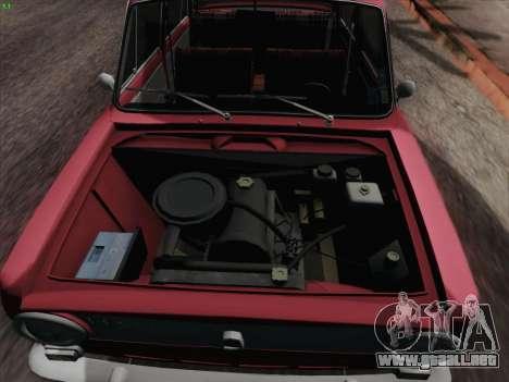 VAZ 2101 para vista inferior GTA San Andreas