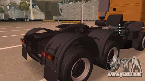KAMAZ 260 Turbo para visión interna GTA San Andreas