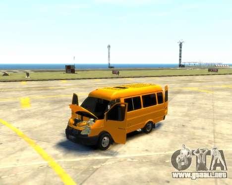 3221 Gacela para GTA 4 vista interior