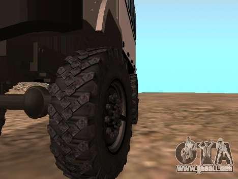 GAZ 66 ver para vista lateral GTA San Andreas