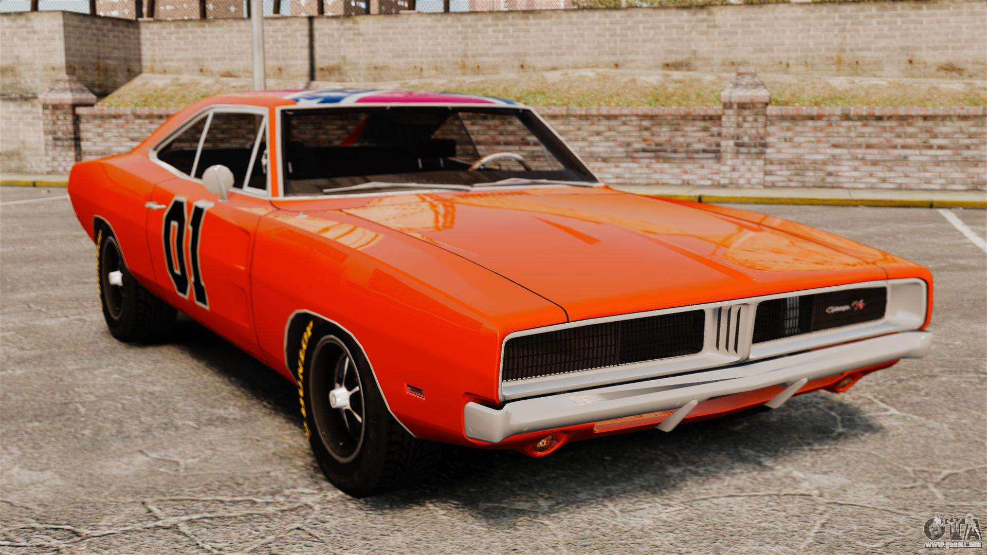 General Lee Dodge Truck Dodge charger general lee 1969