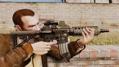 Carabina M4 CQC en el estilo de Modern Warfare para GTA 4