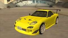 Mazda RX7 FD3S RE Amemyia Touge Style para GTA San Andreas