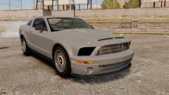 Ford Mustang Shelby GT500 2008 para GTA 4