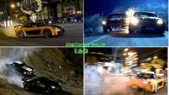 Rápido y el furioso fondo del 3 menú para GTA San Andreas