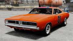 Dodge Charger 1969 General Lee v2 para GTA 4
