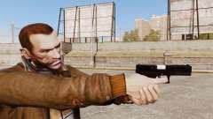 Glock 17 pistola autocargable v2 para GTA 4