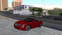 Infiniti G37 S Cabriolet para GTA San Andreas