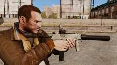 Táctica MP9 subfusil ametrallador v3 para GTA 4