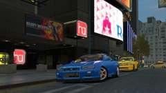 Nissan Skyline GTR-34 para GTA 4