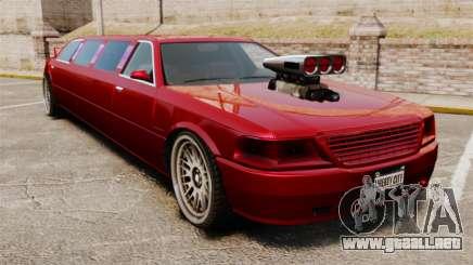 Carreras callejeras de limusina para GTA 4
