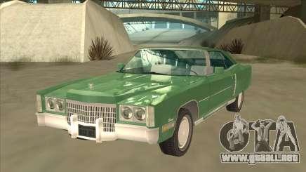 Cadillac Eldorado купе para GTA San Andreas