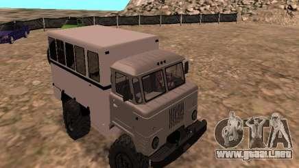 GAZ 66 ver para GTA San Andreas