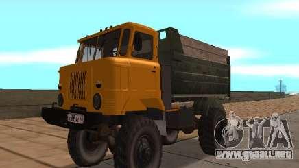 Camión de GAS-66 para GTA San Andreas