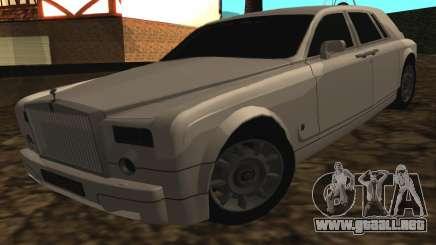 Rolls-Royce Phantom v2.0 para GTA San Andreas