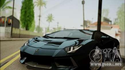 Lamborghini Aventador LP700 para GTA San Andreas