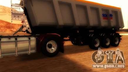 Remolque Schmitz Cargo Toro para GTA San Andreas