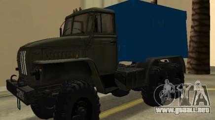 Ural 4320 Tonar para GTA San Andreas