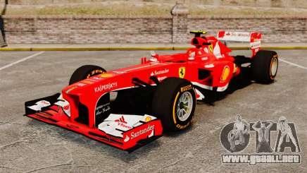Ferrari F138 2013 v2 para GTA 4