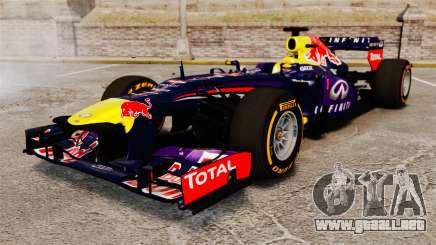 Coche, Red Bull RB9 v2 para GTA 4