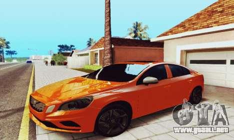 Volvo S60 para la visión correcta GTA San Andreas