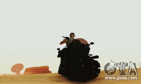 Mercenaries 2 Panzercycle para GTA San Andreas
