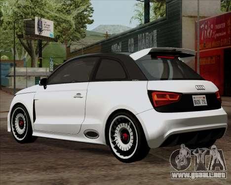 Audi A1 Clubsport Quattro para GTA San Andreas left