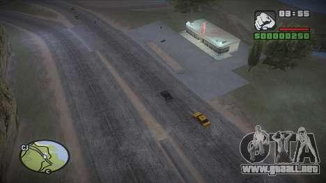 GTA HD mod 2.0 para GTA San Andreas quinta pantalla