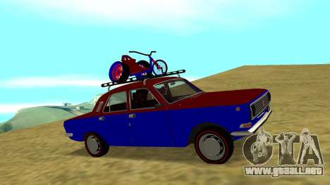Volga GAZ-24 Fun para GTA San Andreas vista hacia atrás